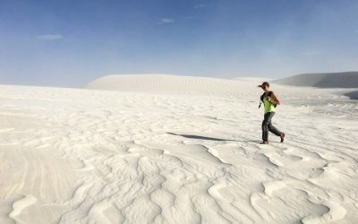 Hiking in New Mexico | White Sands