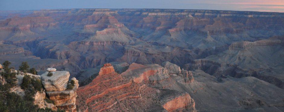 Hiking the Grand Canyon Sunrise