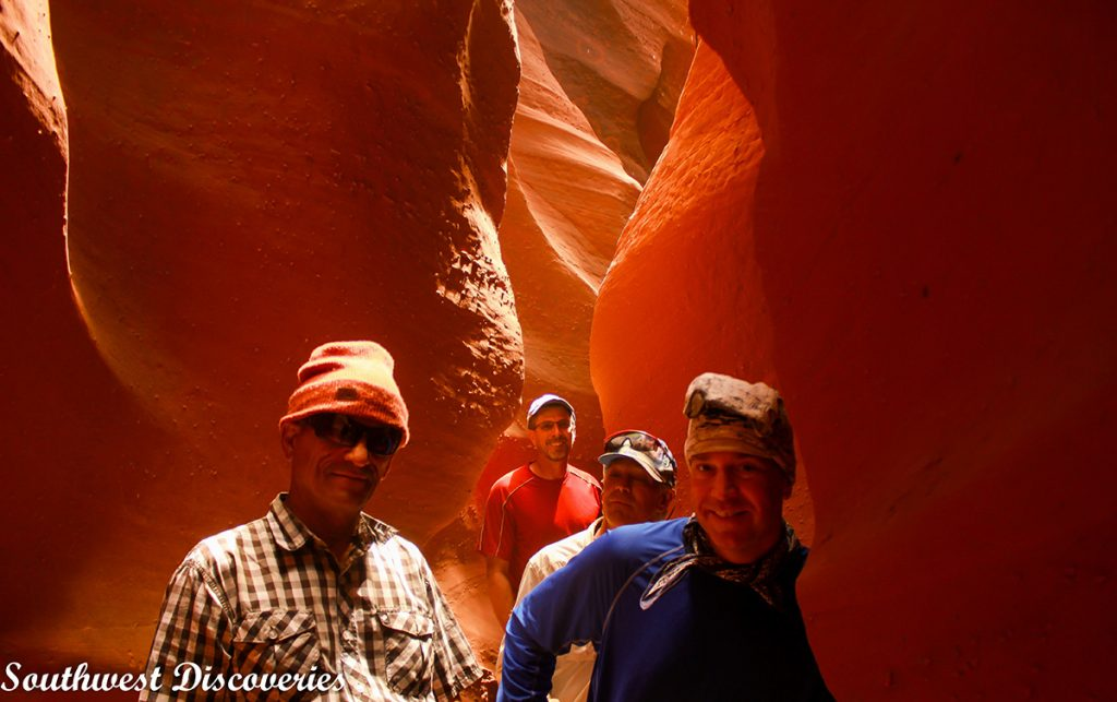 Hiking Peek a Boo Slot Canyon
