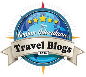 Top Senior Adventures Travel Blog Badge