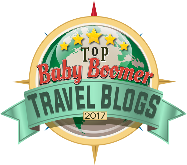 Top Baby Boomer Travel Blogs Badge